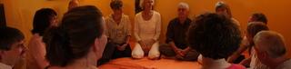 Tantra-Nights Gruppe im Erfahrungsaustausch